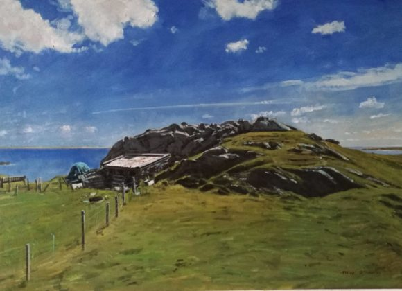 Meitheamh 2019: Mick O'Dea 'Landscapes'