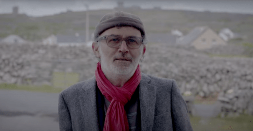 TOMMY TIERNAN SUPPORTS THE ARAS EANNA DRAW